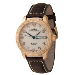NC Clou de Paris Automatic Retro Day Date gold plated