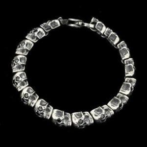 DIAMOND EYES ALL AROUND SKULLS by MANUEL BOZZI