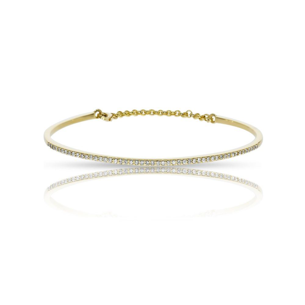 kristalini bangles with bangle diamond product thin delicate cuff chain