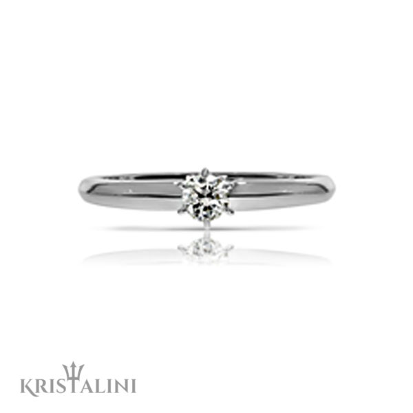 Solitaire Diamond Engagement Ring (2)