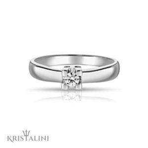 Diamond Engagement Ring 4 prongs Solitaire