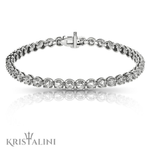 Hollywood Star Luxurious Diamonds Tennis Bracelet