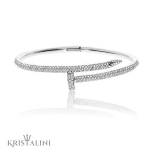 Luxurious Bangle Diamonds Bracelet Nail design