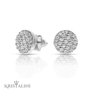 Diamond stud Earrings 50 diamonds combined