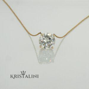 תליון יהלומים מרהיב במשקל 0.25 קרט
