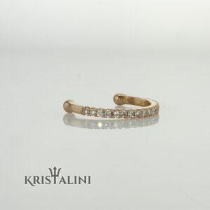 Helix Earrings 1.80 Grams 14 Karat  Gold